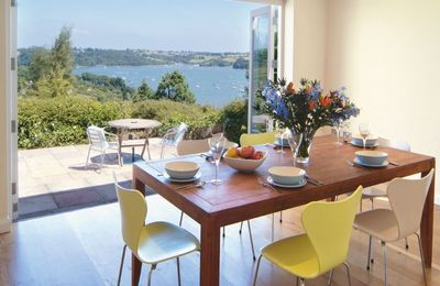Photo for Penveron is a detached, self catering holiday cottage with stunning views over the Dart Estuary.