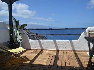 Photo for THE LITTLE WHALE: BEAUTIFUL OCEAN VIEW APARTMENT