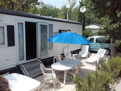 Photo for Mobile home in Antibes between Cannes and Nice 200m from the beaches and Marineland
