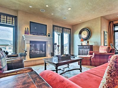 Photo for Charming Ski-In/Ski-Out Park City Condo w/Hot Tub!