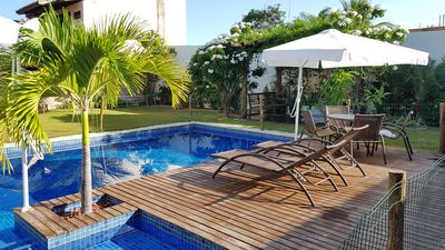 Photo for Itacimirim - large house, swimming pool, 150m from Espera Beach -71 99636-2826-zap