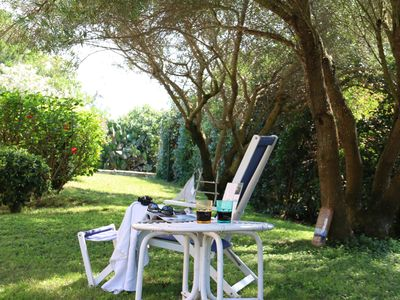 Photo for Villa Elicriso   apartment in Stintino with private parking, private terrace & shared garden.