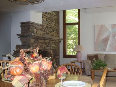 Photo for Slope Side on Okemo  3 Brm/3 Bath - Sleeps 9, Seasonal Rental. 75 Yards to Trail