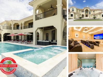 Photo for W295- 12 Br Luxury Reunion Mansion With Indoor Spa
