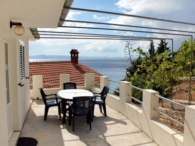 Photo for Two bedroom apartment near beach Cove Jedra, Hvar (A-2583-f)