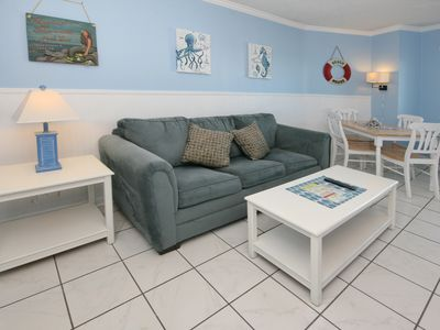Photo for Blue Water Resort 821 | Newly Decorated Condo with Wonderful Ocean View
