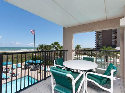 Photo for 3 bedroom 3 bath beachfront condo - 210