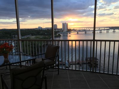 Photo for Upscale 9th Floor Water-Front 3 Br Condo In Downtown Fort Myers