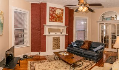 Photo for Charming and Spacious, Historic Duplex in Lovely Neighborhood