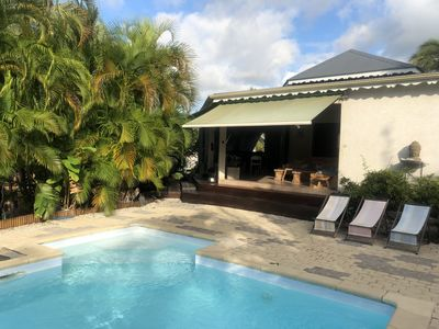 """Photo for Villa T4 """"Les Charmilles"""" manganao beach and restaurants on foot"""
