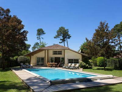 Photo for villa with private swimming pool, near the golf course