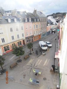 Photo for Very bright and quiet apartment overlooking small shopping square