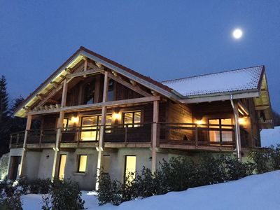 """Photo for new chalet 300m from the ski slopes, """""""" """"exceptional lake view"""" """""""""""