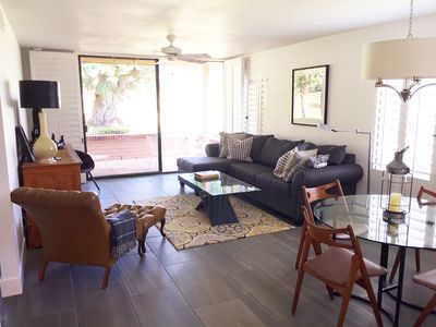 Photo for Enjoy a true desert oasis. Golf, tennis, clubhouse and pools in gated community