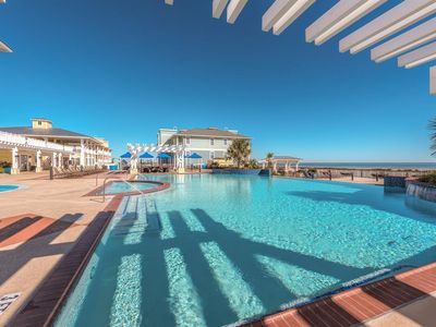 Photo for Nirvana! Beach Front Luxury Condo Across from Beach Resort. Bay and Ocean Views.