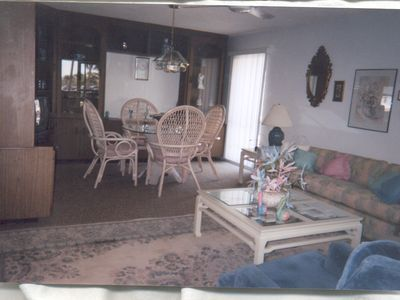 Photo for Beautiful 2 bedroom 2 bath  perfect location across the street from lido beach