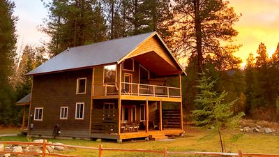 Photo for New Pet Friendly Cabin - Super Clean - Beautiful Views & Lots of Privacy
