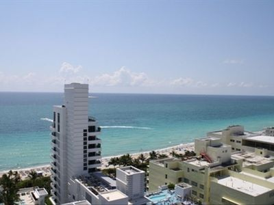 Photo for Best Rates!! Gorgeous 1BR/2Bath Fontainebleau Corner Unit Overlooking Ocean