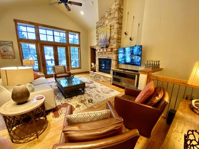 Photo for Stunning modern home walking distance to town and trails, Hot Tub, Fire Pit, Views!