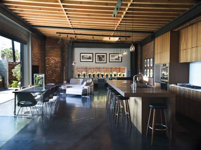 Photo for STUNNING ARCHITECTURAL INDUSTRIAL LOFT W/ POOL ONE BLOCK TO THE BEACH
