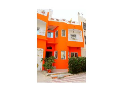 Photo for Two bedroom apartment with terrace in South Foire, Sonatel, Dakar