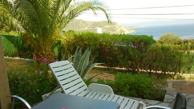 Photo for Brand new flat for two people, beautiful view on sea- CARGESE