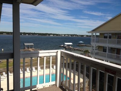 Photo for 2 Bedroom Plus Loft | Beautiful Lagoon Property!