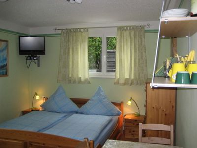 Photo for Quadruple room with double bed and bunk bed, shower and toilet. - Guest Room Victory