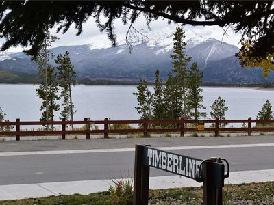 Photo for On Lake Dillon - Next To Dillon Amphitheater, Mountain and Lake Views, Covered Deck, Near Marina