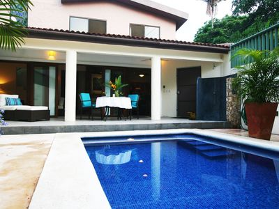 Photo for Sayulita, North Side modern villa with private pool, close to beach