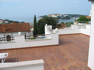 Photo for Suncaliste - 2 bedroom apartment, large terrace, Free WiFi, Air Con, Sea Views -