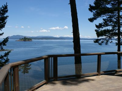 Photo for WATERFRONT! PRIVATE! 2 homes totaling 5 Bedrooms and 4 Bathrooms!