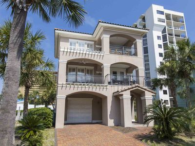 Photo for Brand New Vacation Rental with Free Beach Service! Private Beach Home in the Middle of Destin. Steps to the Sand!