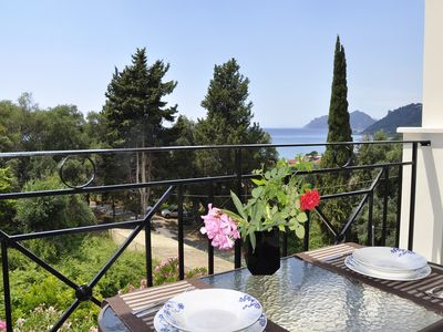 Photo for Apt No 12 - 1 Bedroom Apartment in Dinas Paradise Corfu Apartments