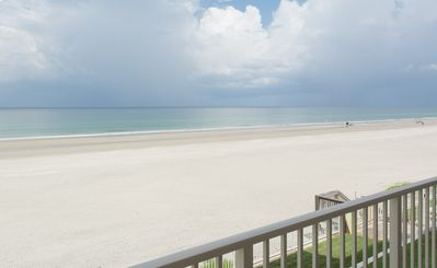 Photo for HA210 Hacienda del Sol 1 Lovely direct oceanfront 2 bedroom 2 bath condo.