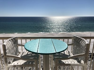 Photo for Top Floor Corner Unit Ocean Front Studio Most Affordable- Free Beach Service