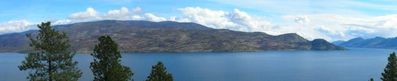 Panoramic lakeview from the suite