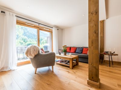 Photo for Grand Paradis 2 - High quality apt. with Mont Blanc view and central location