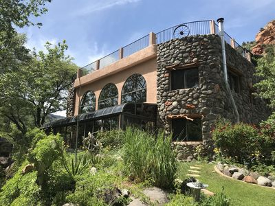 Photo for Enchanting views and ultimate privacy. Oak Creek Canyon Home/Retreat