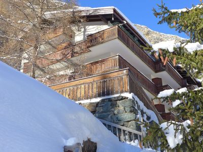 Photo for Apartment Milihaus B in Zermatt - 2 persons, 1 bedrooms