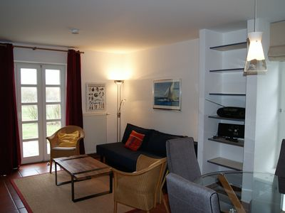 "Photo for Sunny EC Whg m. Terrace, Kat. ""Comfort "", lux. Kitchen, near beach, incl. Indoor pool"