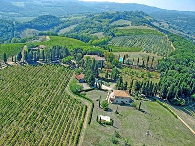 Photo for One bedroom Apartment, sleeps 2 in San Gimignano with Pool and WiFi