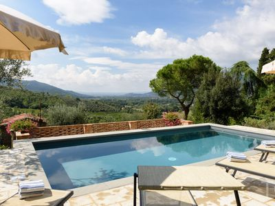 Photo for Casa Dei Sogni, for 6 guests, three bedrooms, Private Pool, Air Conditioning and Enchanting Views...