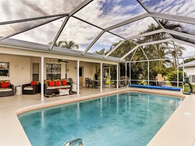 Photo for Canalfront Cape Coral Home w/ Private Dock!