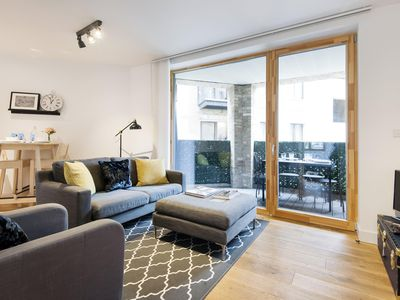 Photo for Shalfleet Drive apartment in South Kensington with WiFi & balcony.