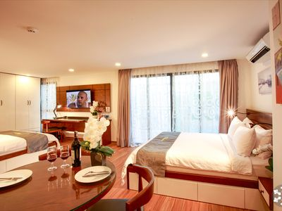 Photo for Huge VIP Penthouse Center District 1 Walk To Shops, Attractions & Services