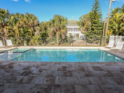 Photo for This home is located at the quiet southern end of Estero Island, and is only a few minutes drive to a wide variety of amenities