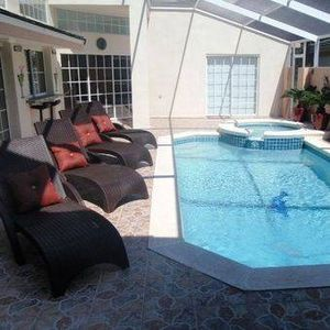 Photo for 8803CC. Beautiful 3 bedroom 3 Bath Vacation Home with Very Private Pool Area
