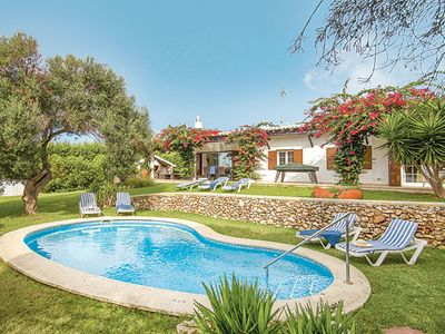 Photo for 4 bed villa centrally located w/ private pool, BBQ, free Wi-Fi and A/C