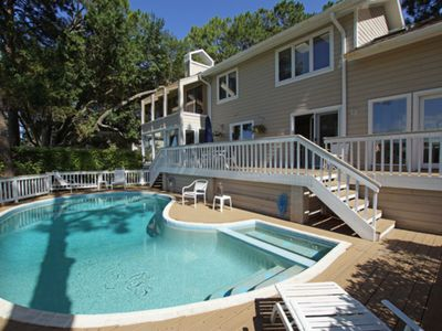 Photo for Private Pool, 200 Yards to Beach, Directly on Trent Jones Course